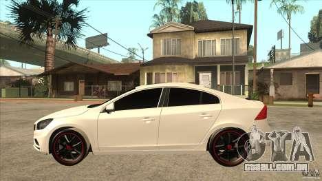 Volvo S60 para GTA San Andreas esquerda vista