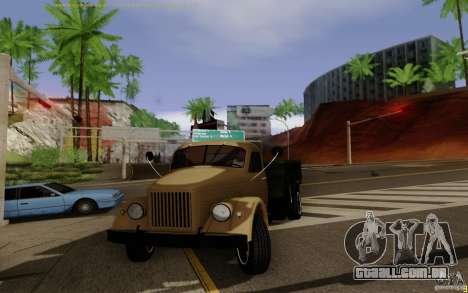 GAZ 51 para GTA San Andreas esquerda vista