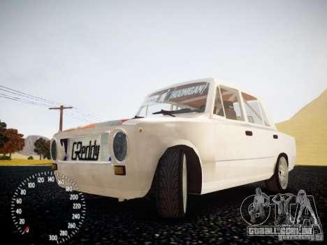 Vaz-2101 Drift Edition para GTA 4 vista interior