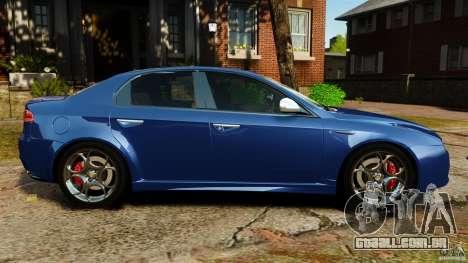 Alfa Romeo 159 TI V6 JTS para GTA 4 esquerda vista