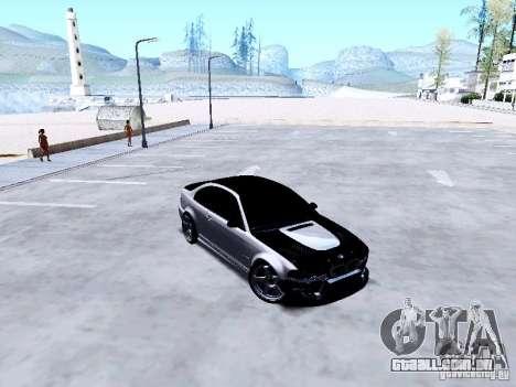 BMW 318i E46 Drift Style para GTA San Andreas vista interior