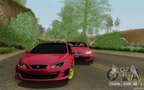 Seat Ibiza Cupra para GTA San Andreas traseira esquerda vista