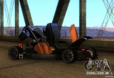 Guarda para GTA San Andreas esquerda vista
