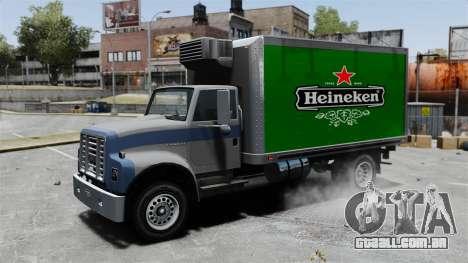 O novo anúncio para caminhão Yankee para GTA 4 vista de volta
