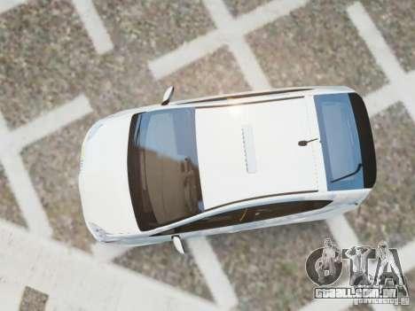 Toyota Prius EKO TAXI (Hrvatski taxi) para GTA 4 vista direita