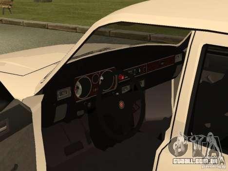Volga GAZ 31013 para GTA San Andreas vista traseira