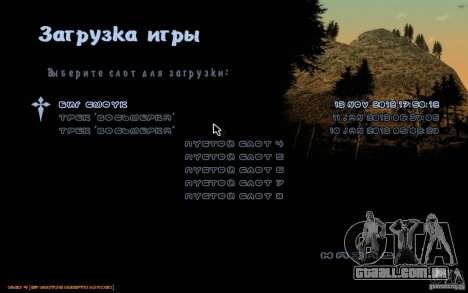 Nova fonte para GTA San Andreas segunda tela