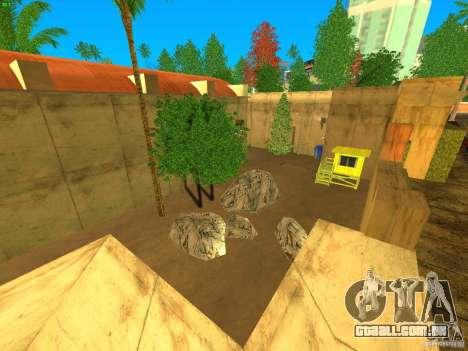 New Studio in LS para GTA San Andreas por diante tela