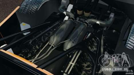 Hennessey Venom GT Spyder para GTA 4 vista de volta