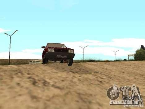 AZLK Moskvich 2141 para GTA San Andreas esquerda vista