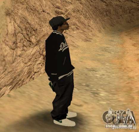 Pele Ryder para GTA San Andreas terceira tela