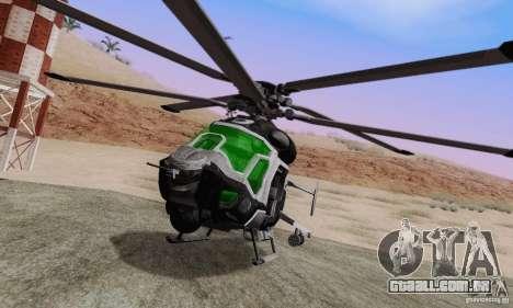AH-2 Сrysis 50 C.E.L.L. helicóptero para GTA San Andreas