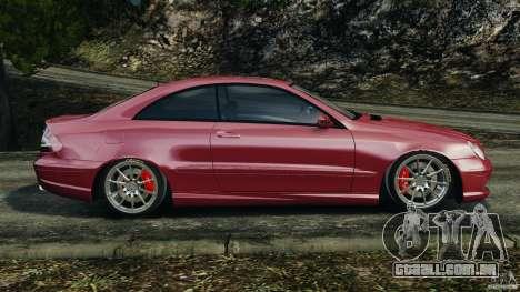 Mercedes-Benz CLK 63 AMG para GTA 4 esquerda vista