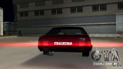 VAZ 21099 para GTA Vice City vista direita