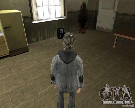Alan Wake para GTA San Andreas terceira tela