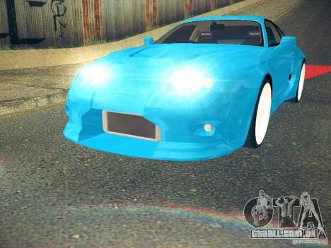 Toyota Supra VeilSide Fortune 2003 para GTA San Andreas vista direita