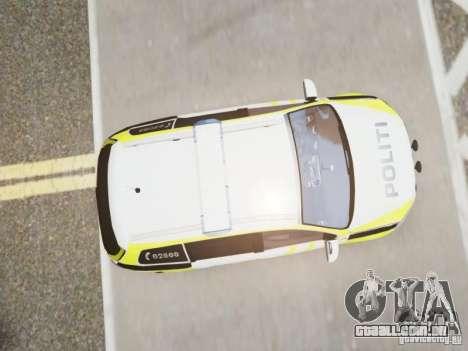 Volkswagen Passat B7 Variant 2012 para GTA 4 vista de volta