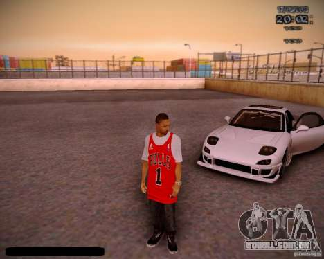 Pele Chicago Bulls para GTA San Andreas