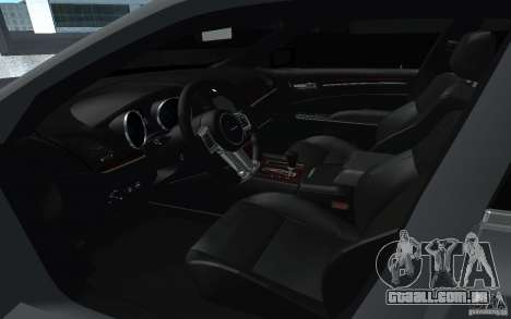 Chrysler 300C para GTA San Andreas vista direita