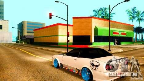 Black and White Elegy para GTA San Andreas esquerda vista