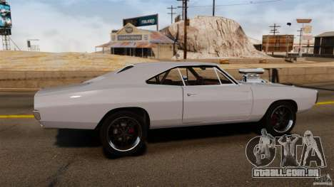 Dodge Charger RT 1970 para GTA 4 esquerda vista