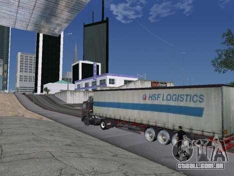 Reboque Schmitz para GTA San Andreas esquerda vista