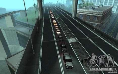 A comitiva presidencial v. 1.2 para GTA San Andreas quinto tela