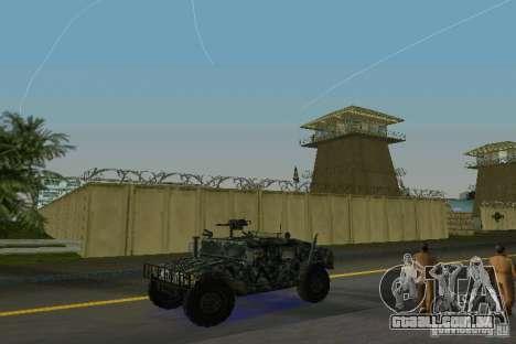 Hummer HMMWV M-998 1984 para GTA Vice City deixou vista