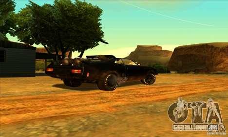 Ford Falcon 351 GT (XB) para GTA San Andreas vista traseira