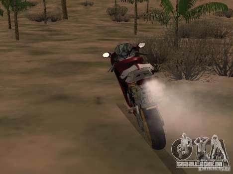 Ducati 999R para GTA San Andreas vista direita