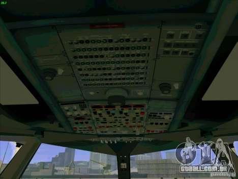 Airbus A380-800 para GTA San Andreas interior