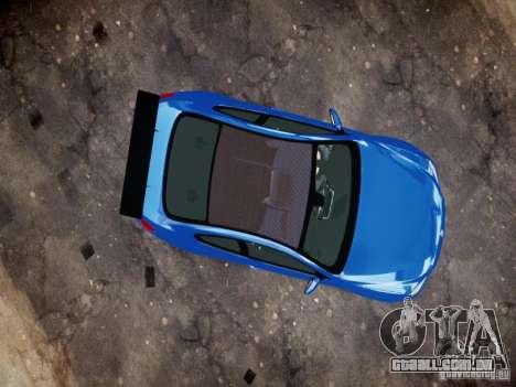 BMW M6 2013 para GTA 4 vista de volta