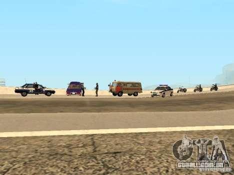 Um acidente na ponte Garver para GTA San Andreas terceira tela