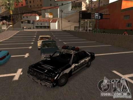 Police VC para GTA San Andreas vista traseira