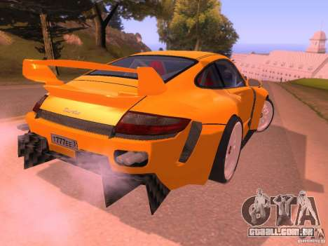 Porsche 911 Turbo Tuning para GTA San Andreas vista direita
