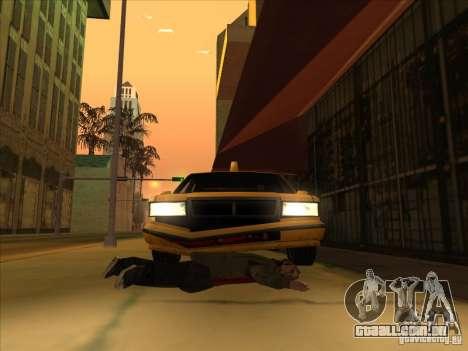 Sangue de carro v2 para GTA San Andreas terceira tela