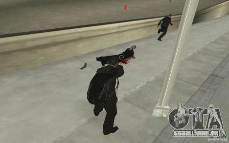 Animando o corpo de GTA IV para GTA San Andreas sexta tela