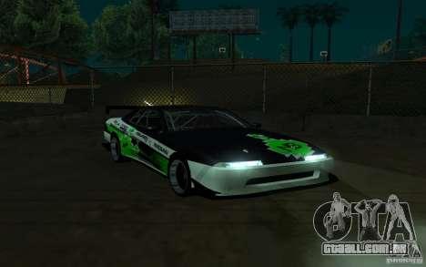 Elegia por PiT_buLL para GTA San Andreas esquerda vista