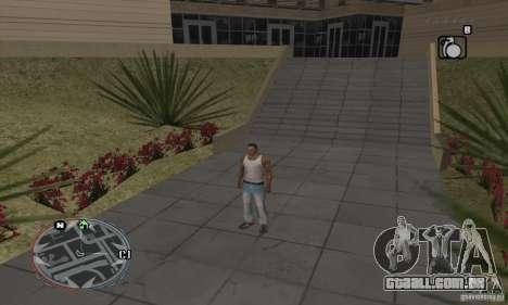 Ultra HUD v2.0 para GTA San Andreas terceira tela