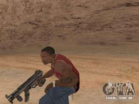 MP5K para GTA San Andreas sexta tela