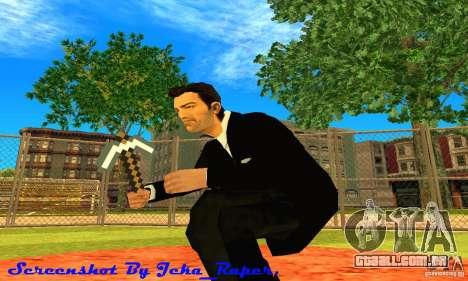 Escolher o jogo Minecraft para GTA San Andreas
