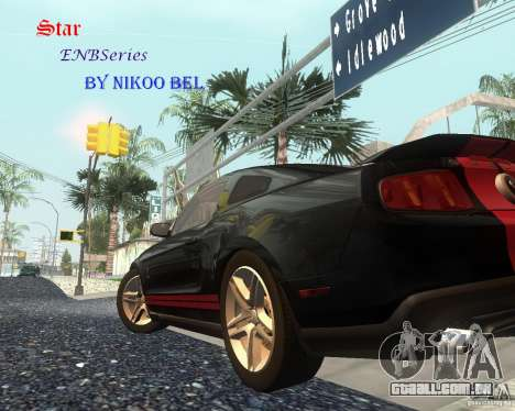 Star ENBSeries by Nikoo Bel para GTA San Andreas