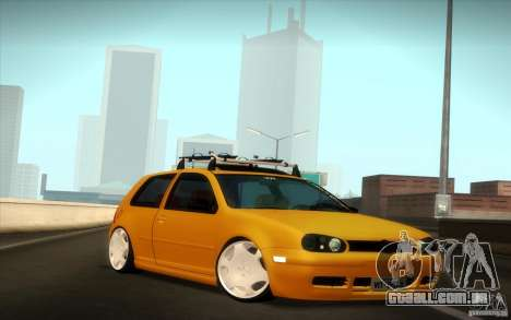 Volkswagen Golf para GTA San Andreas vista direita