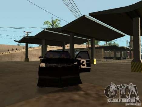 Cadillac Escalade Tallahassee para GTA San Andreas vista superior