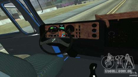 Man F2000 para GTA San Andreas vista direita