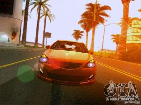 Opel Astra Senner Lower Project para GTA San Andreas vista traseira
