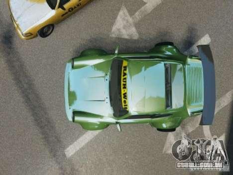 Porsche 911 Turbo RWB Pandora One Beta para GTA 4 vista interior