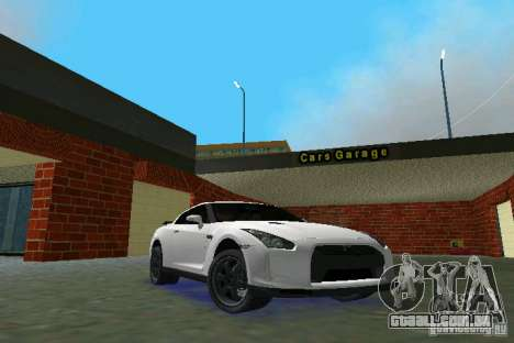 Nissan GT-R Spec V 2010 v1.0 para GTA Vice City
