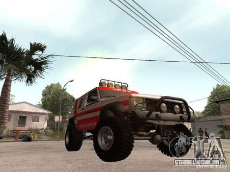 Jeep Cherokee 1984 para GTA San Andreas