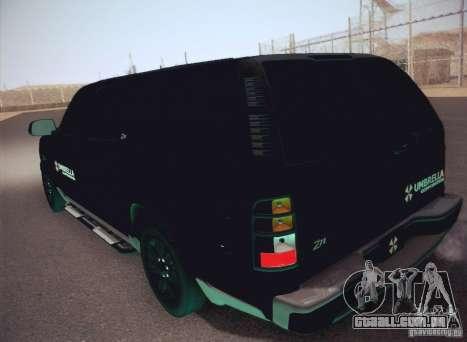 Chevrolet Suburban 2003 para GTA San Andreas vista direita